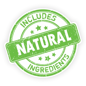 Includes Natural Ingredients